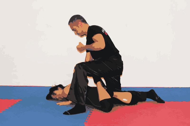 Defensa personal krav maga con Xavi nadal