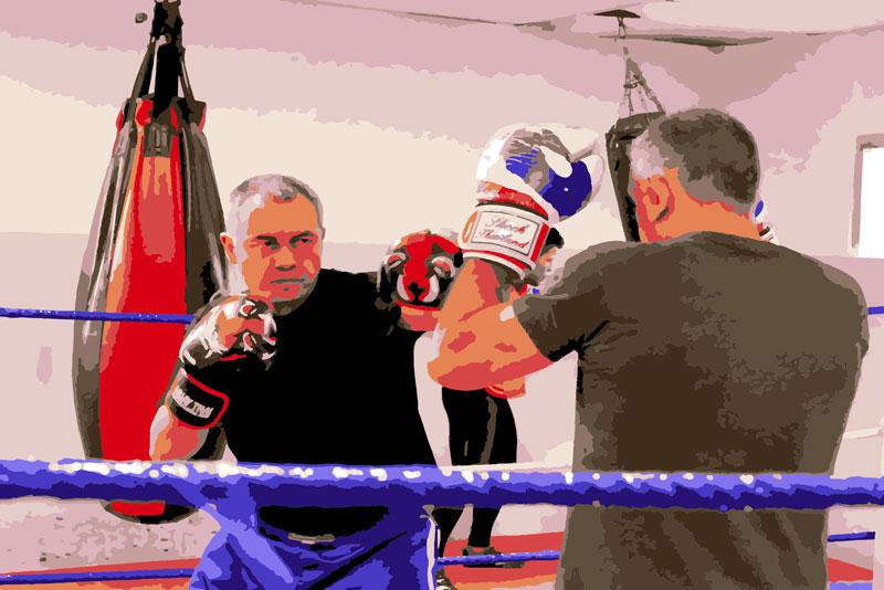Kick boxing con xavi nadal